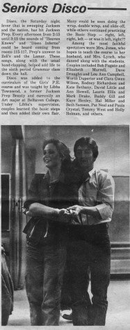 FROM THE ARCHIVES: April 6, 1979: Seniors Disco