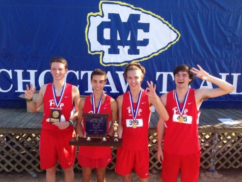 Boys' Cross Country Wins State Championship 3rd Years in a Row