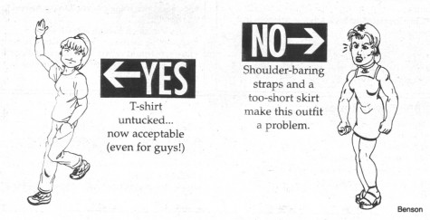 """FROM THE ARCHIVES: Vol. XXXI, No. 1 (August 2000) – """"Student Dress Code Altered, Clarified"""""""