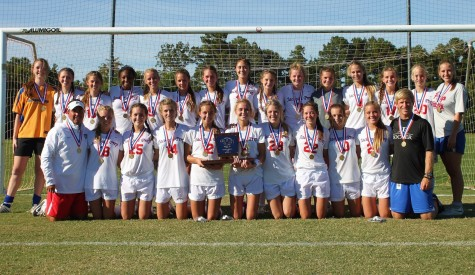 Lady Patriots Soccer Team are Back to Back Champions