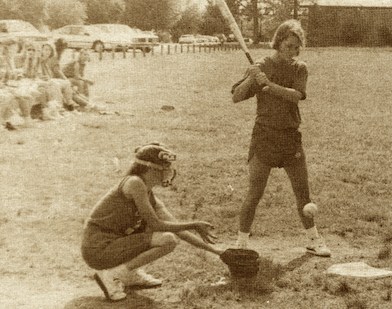 """FROM THE ARCHIVES: Vol. XX, No. 5 (May 1990) – """"Best season yet for girls' softball"""""""