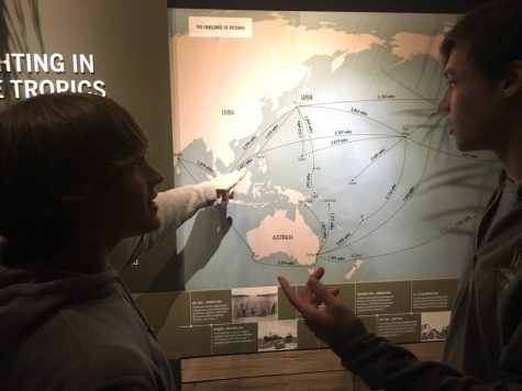 Sophomore class spends day at World War II museum
