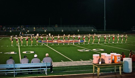 Spirit Dance Team Keeps Junior High Energetic