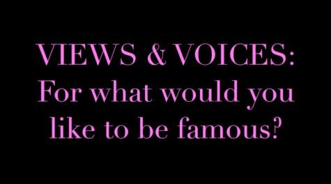 Views & Voices: Fame