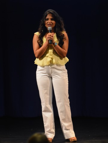 Speaker Paromita Mitra, Miss Mississippi 2013, is studying aerospace engineering. Photo courtesy of Ms. Vicki King.