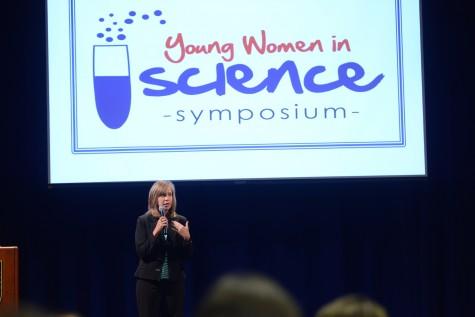 Pediatrician Dr. Tami Brooks addresses the symposium. Photo courtesy of Ms. Vicki King