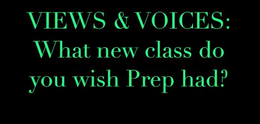 Views & Voices: New Classes
