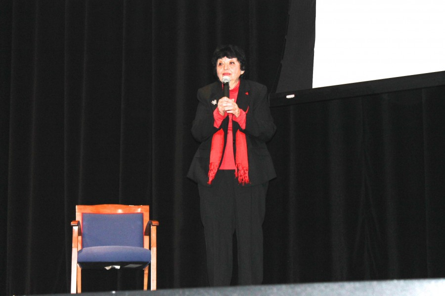 Holocaust+Survivor+Inge+Auerbacher+Speaks+to+Student+Body
