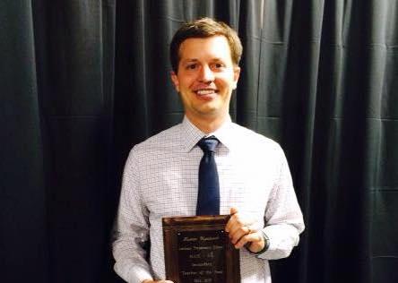 Upchurch Wins MAIS Teacher of the Year