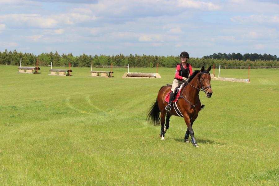 Equestrian Team Rides for the First Time