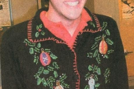 FROM THE ARCHIVES: Vol. XXXVI, No. 3 (Dec. 2005) – Tacky Sweater Contest Winners '05