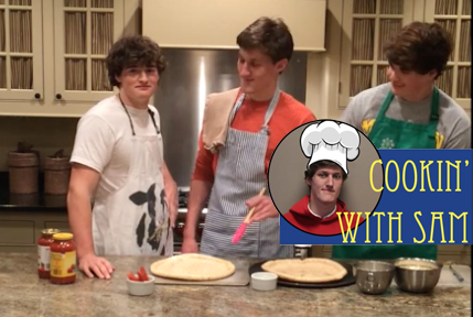 Cookin' With Sam: Tomato Tart (a.k.a. Pizza)