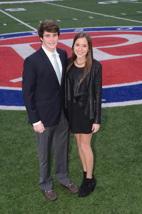 Mr. and Miss Senior Class: Holt Crews and Kennady Galloway  (photo courtesy of Mr. Hubert Worley)
