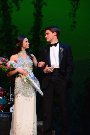 (photo courtesy of Mr. Hubert Worley) Madeline Parker and Jake Mangum