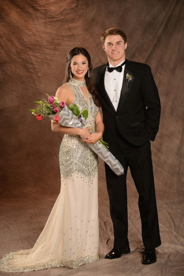 (photo courtesy of Mr. Hubert Worley) Most Handsome and Most Beautiful  Jake Mangum and Madeline Parker