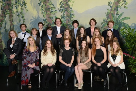 (photo courtesy of Mr. Hubert Worley) The 2015 Class Favorites