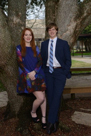 Most Charming:  Peyton Parker and Millie Waller  (photo courtesy of Mr. Hubert Worley)
