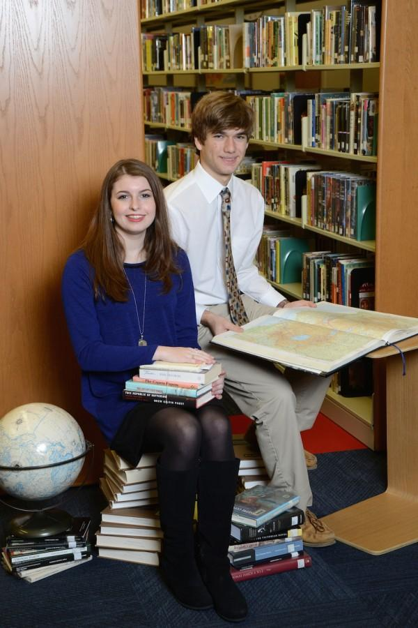Most Intellectual: Thaddeus Cochrane and Sarah Kennedy Duncan  (photo courtesy of Mr. Hubert Worley)