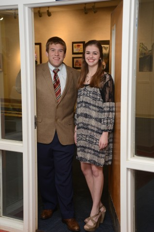 Mr. and Miss Junior Class: J.C. Pride and Martha Rayner  (photo courtesy of Mr. Hubert Worley)