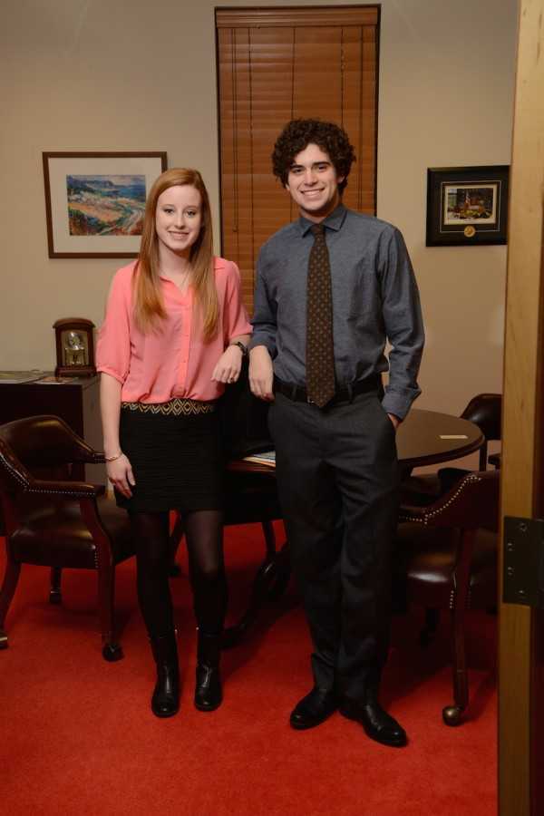 Most Likely to Succeed: Parker McGowan and Claire McDowell  (photo courtesy of Mr. Hubert Worley)