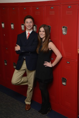Mr. and Miss Sophomore Class: John Nix Arledge and Anne Rivers Mounger (photo courtesy of Mr. Hubert Worley)