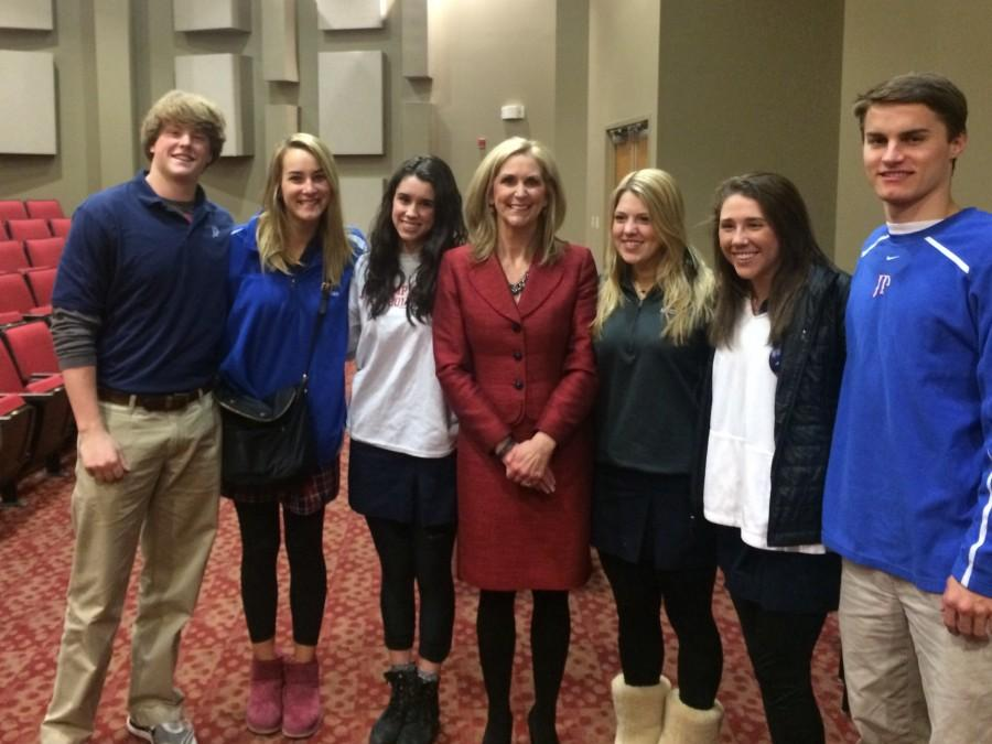 State Treasurer Lynn Fitch Speaks to Students