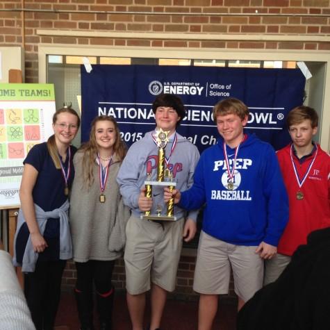 8th Graders Take Science Prize