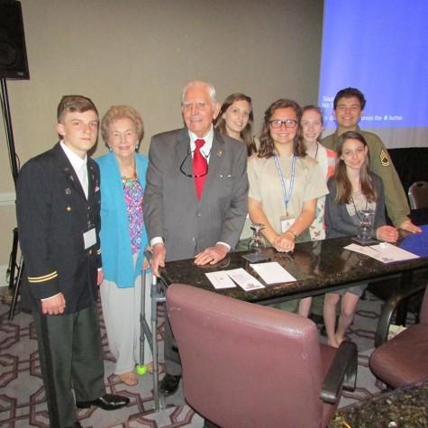 Prep students meet with Veterans