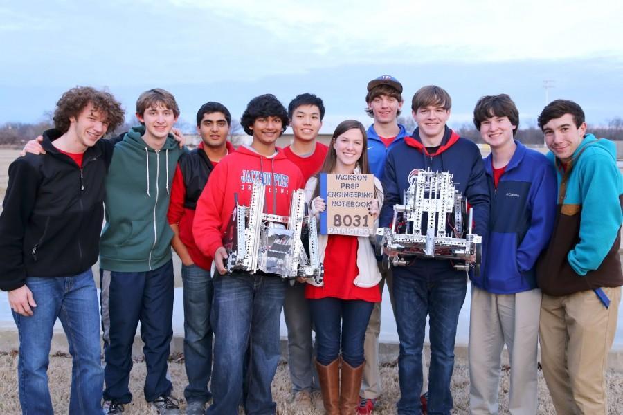 Robotics+Team+Accepts+the+First+Tech+Challenge