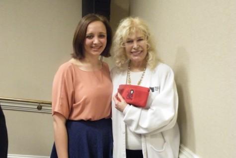 Jennifer Roberts Poses with Lorretta Swit