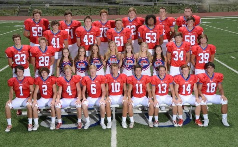 Jackson Prep Cheerleader and Football seniors from left to right. Top row: Spencer Sasser, Zachary Gay, Tyler Tyree, Healy Vice, Noah Sasser, and Taylor Wallace. Second row: Ross Edwards, Sam Mosely, J.C. Pride, Xavier Keys, and Griffin Calender. Third row: Lee Meana, William Garrard, Kara Cook, Hannah Higginbotham, Leigh Ashley Courtney, Tate Miller, Elizabeth Glaze, Anna Rachel Roberts, Sydney Mann, John Keeler, and Graham Eklund. Fourth row: Haynes Horsley, Biggs Henry, Adam Crawford, Vann Crawford, Creed Franklin, Kaleb Lovertich, Davis Clayton, Worth Eskrigge, and John Wooley. Photo Courtesy of Hubert Worley