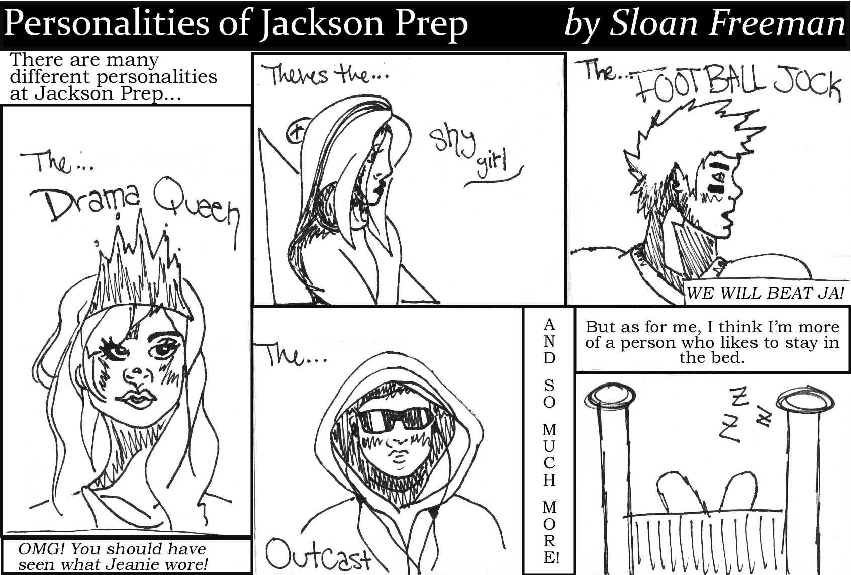 Personalities of Prep2