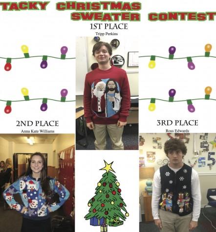 Tacky Christmas Sweater Contest Winners