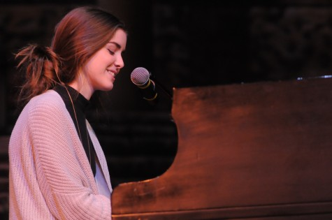 "Beth Ann Young performing ""After the Flood"" by Black Gold. Photo courtesy of Hubert Worley Photography."