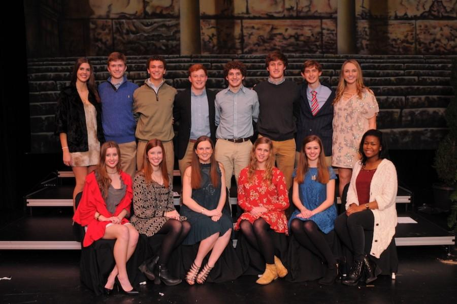2016 Class favorites chosen by their peers.Photo courtesy of Hubert Worley Photography.