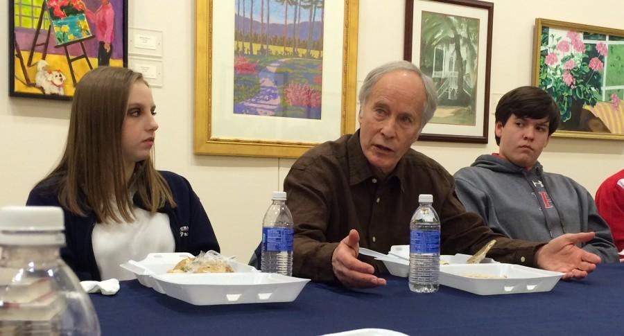 Visiting Writer Richard Ford Inspires Students