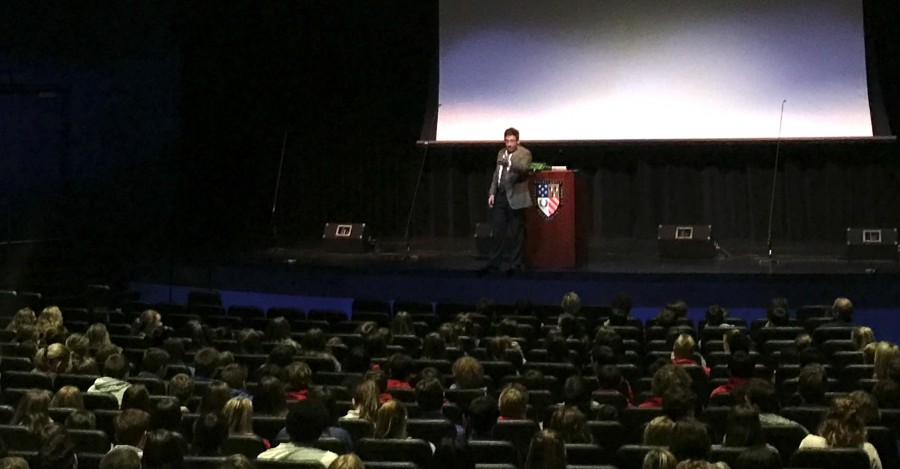 Speaker Counsels Students to Speak Up About Substance Abuse