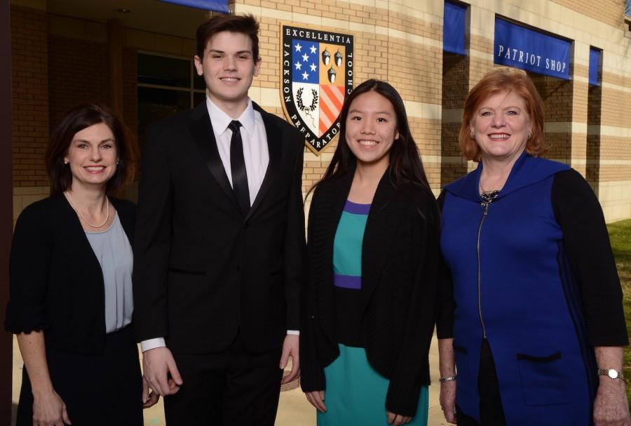 Two Prep Students Named STARs, Honor Teachers