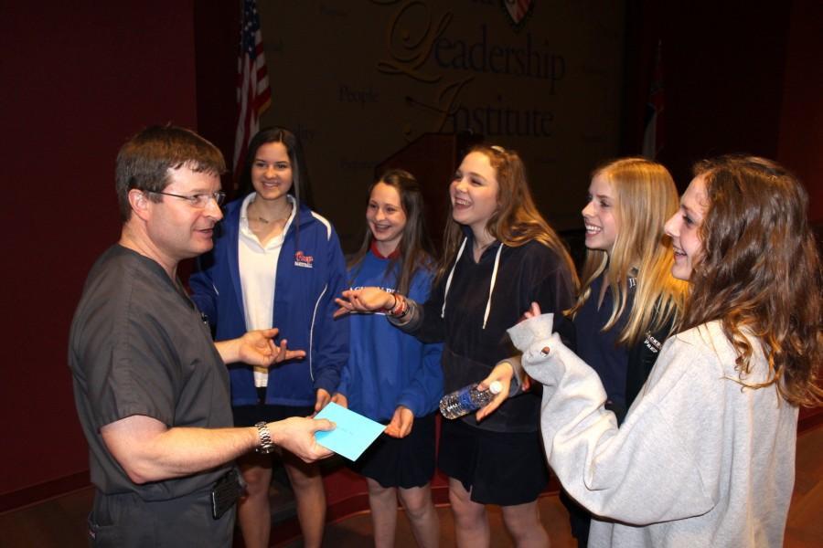 Dr. John Davis Addresses Freshmen