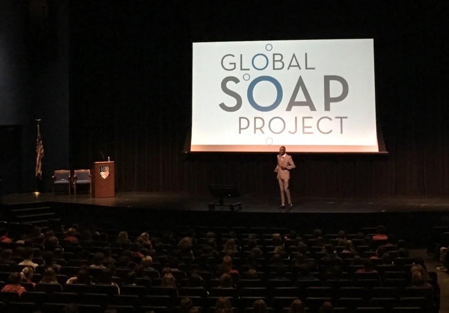 Derreck Kayongo Brings Global Soap Project to Prep
