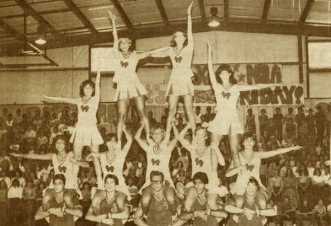"FROM THE ARCHIVES (Vol. XIII, No. 1 – Oct. 1982): ""Cheerleaders win blue ribbons"""