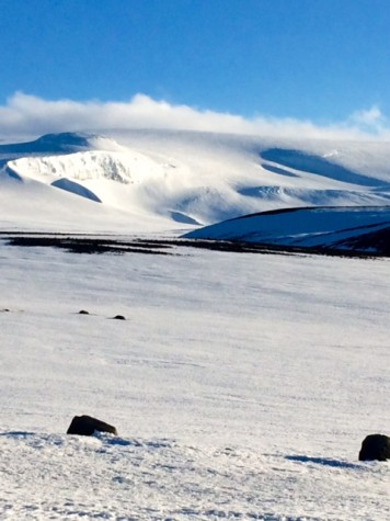 Iceland scenery. Photo courtesy of Ms. Norma Cox.