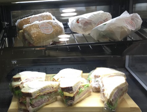 Pre-made sandwiches for on the go dining. Photo by Blair Stockett.