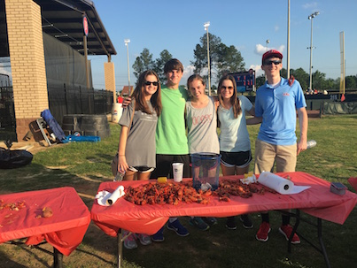 Student Council Ends Year With Crawfish Boil