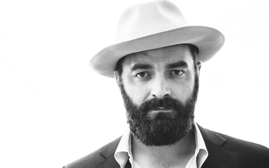 Drew Holcomb Performs at Stray Art and Music Festival
