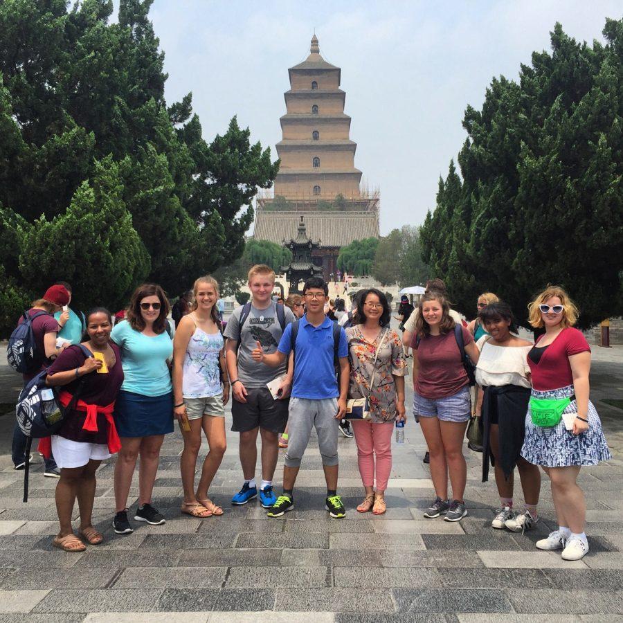 Jackson Prep students enjoy their time in China. Photo courtesy of Amanda Roberts
