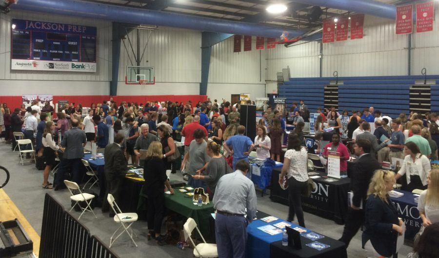 College Fair Draws Crowds