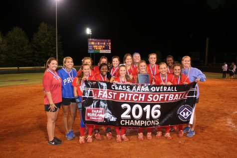 Softball team wins championship