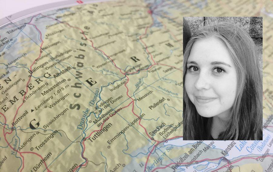 German exchange student Luci Frank comes to Prep