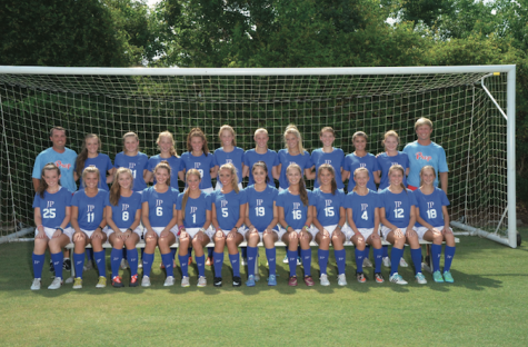 Girls' soccer team finishes 2nd overall